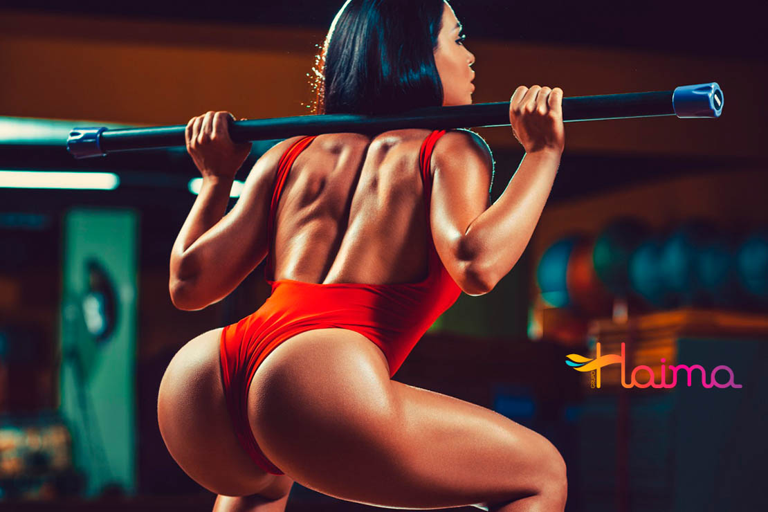 colombian escorts join the gym fashion
